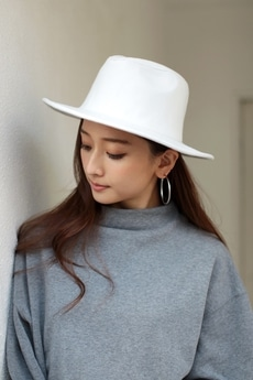 【AZUL BY MOUSSY】メルトン風中折れHAT