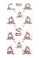 【AZUL by moussy】アイランド柄スマホカバー(5・5S)