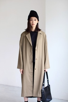 【AZUL by moussy】ロングチェスターコート