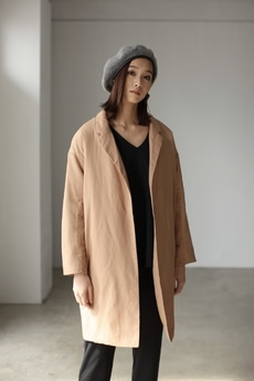 【AZUL by moussy】中綿チェスターコート