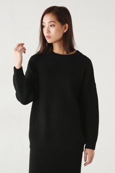 【AZUL BY MOUSSY】畦編みニットセットアップ