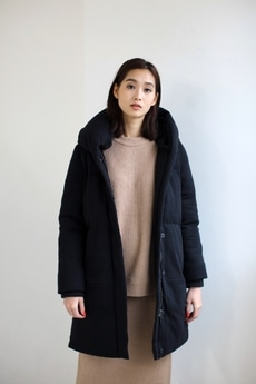 【AZUL BY MOUSSY】ポンチ中綿ロングブルゾン