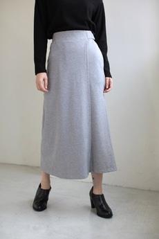 【AZUL by moussy】ソフトポンチラップスカート付ワイドパンツ