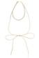 【AZUL by moussy】スウェード調リボン3連チョーカー