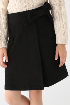 【KIDS】ベルテッドラップスカート