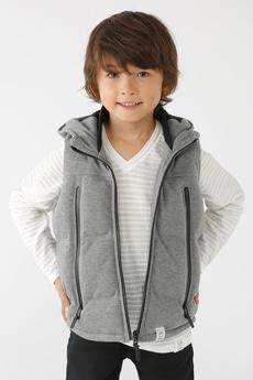 【KIDS】TCポンチ中綿ベスト