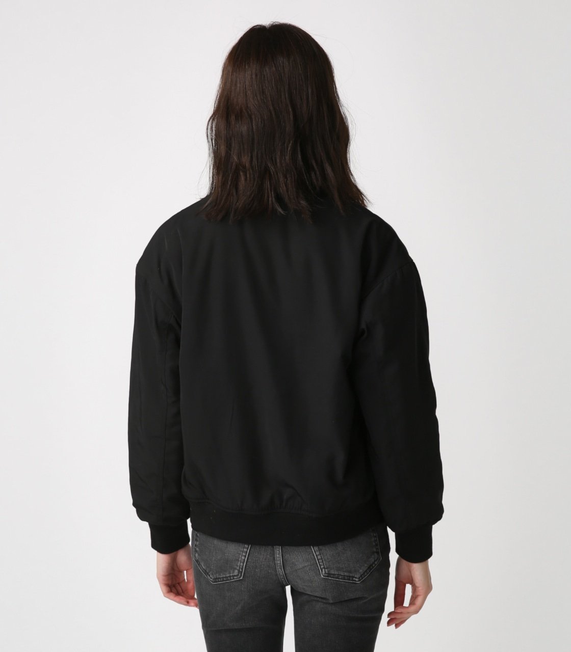 【AZUL BY MOUSSY】リバーシブルボアブルゾン 詳細画像 BLK 7