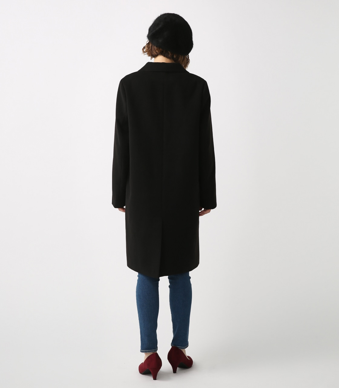 【AZUL BY MOUSSY】スタンダードチェスターコート 詳細画像 BLK 7