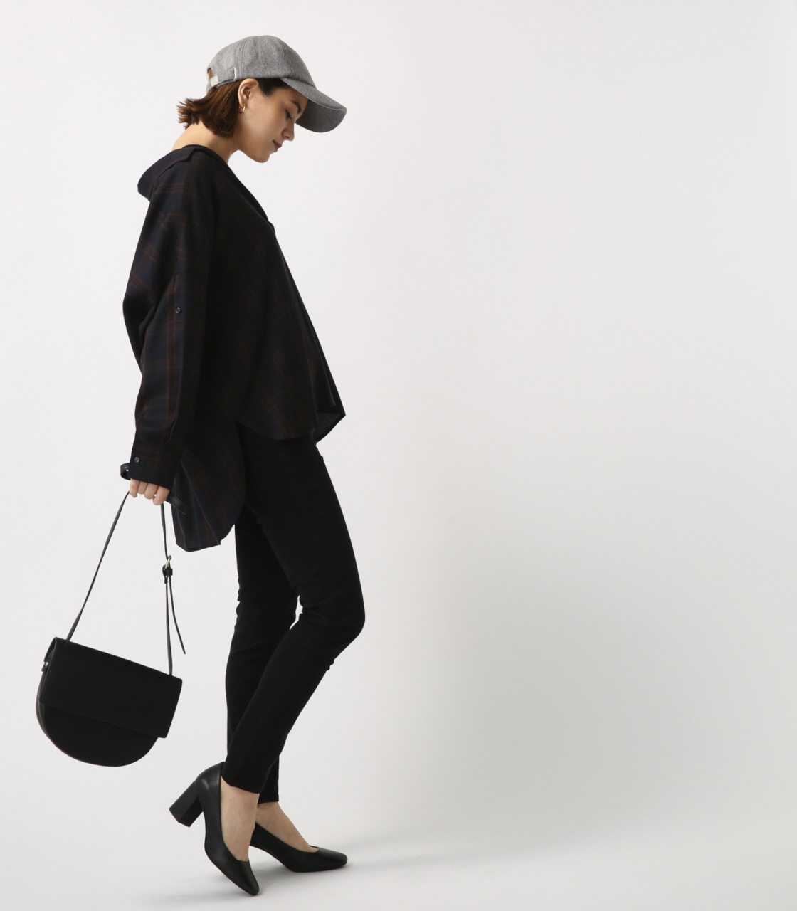 【AZUL BY MOUSSY】ROYOスキニーパンツ 詳細画像 BLK 4
