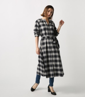 【AZUL BY MOUSSY】スキッパーLongワンピース
