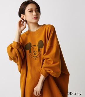 【AZUL BY MOUSSY】MICKEY 裏毛ワンピース [MOOK掲載]  97028