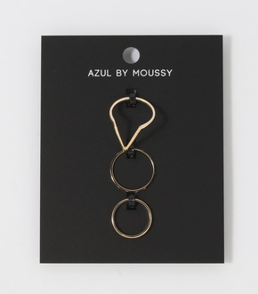 【AZUL BY MOUSSY】メタルVSETリング