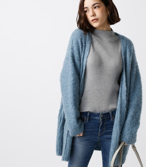 【AZUL BY MOUSSY】ウォッシャブルブークレカーデ【MOOK44掲載 99025】