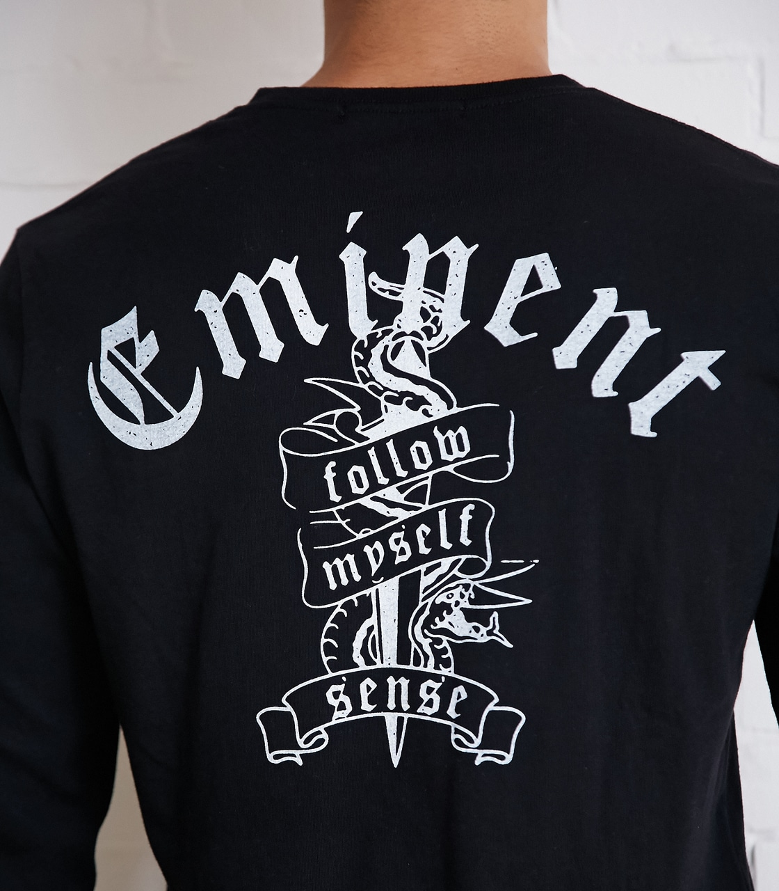 【AZUL BY MOUSSY】Eminent天竺長袖VネックT 詳細画像 BLK 9
