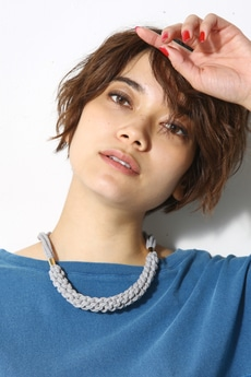 【AZUL by moussy】ロープネックレス