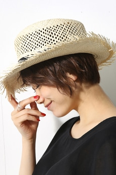 【AZUL by moussy】パナマ風HAT