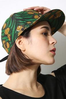 【AZUL by moussy】アフリカンフラワー柄CAP