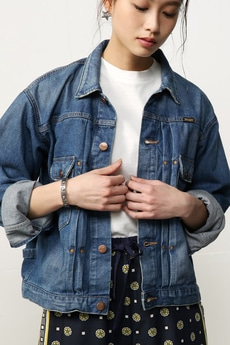 【AZUL by moussy】Wrangler×AZUL Denim JKT