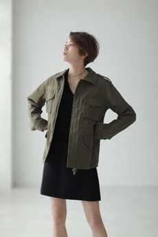 【AZUL by moussy】M-65 ジャケット