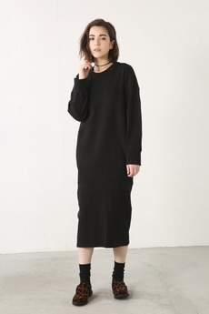 【AZUL by moussy】スムースバルーンワンピース