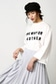 【AZUL by moussy】26/-綿天竺バック釦ロゴTee