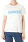 【AZUL by moussy】20/-綿天竺BORED T