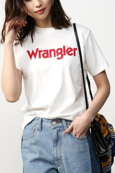 【AZUL by moussy】Wrangler×AZUL T-SHIRTS