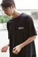 【AZUL by moussy】YOUTHロゴクルーネックTEE
