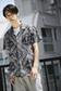 《7/24(月)11:59までWEB限定価格》【AZUL by moussy】バンダナ柄アロハ半袖シャツ