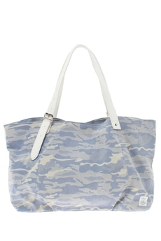 【AZUL by moussy】インディゴカモフラトートBAG