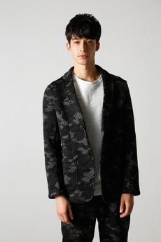 【AZUL by moussy】カモフラフリーステーラードジャケット