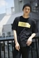 【AZUL by moussy】カスレBOXロゴクルーネック半袖BIGT