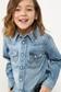 《5/31までWEB限定価格》【KIDS】Wrangler×AZULダメージデニムシャツMOOK番号94101