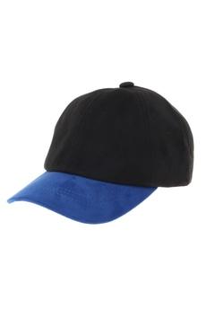 《7/24(月)11:59までWEB限定価格》【KIDS】スウェード調配色CAP