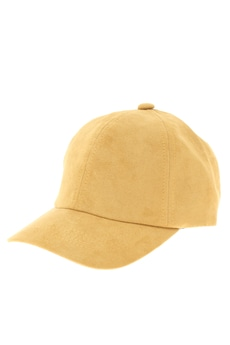 【KIDS】Fake Suede Basic Cap