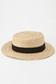 【KIDS】ラフィアカンカン帽