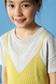 《7/24(月)11:59までWEB限定価格》【KIDS】キャミレイヤード 半袖ニットプルオーバーMOOK品番94106