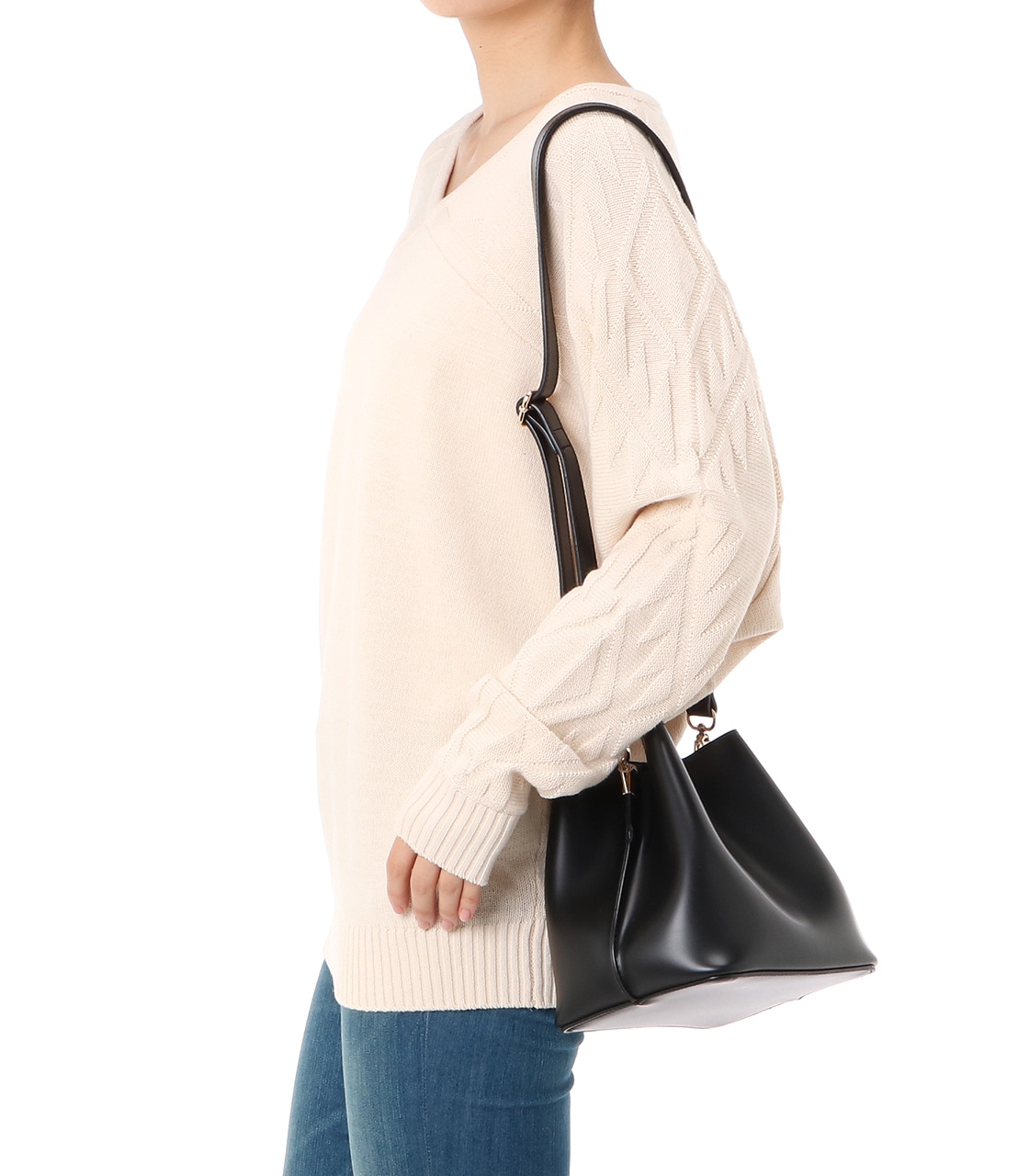 【AZUL BY MOUSSY】mini2wayポシェット 詳細画像 BLK 9