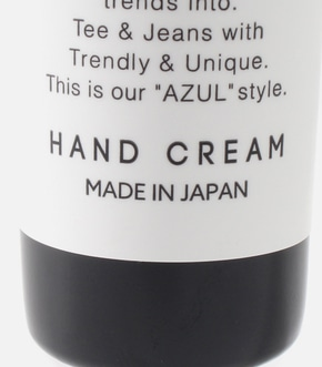 AZUL Handcream 詳細画像