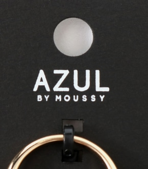 【AZUL BY MOUSSY】V字メタル5本SETリング 詳細画像