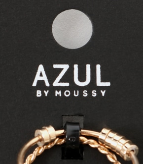 【AZUL BY MOUSSY】マルチモチーフ7本SETリング 詳細画像