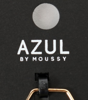 【AZUL BY MOUSSY】チェーンモチーフ5本SETリング 詳細画像