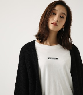 【AZUL BY MOUSSY】ブークレロングカーデ 詳細画像