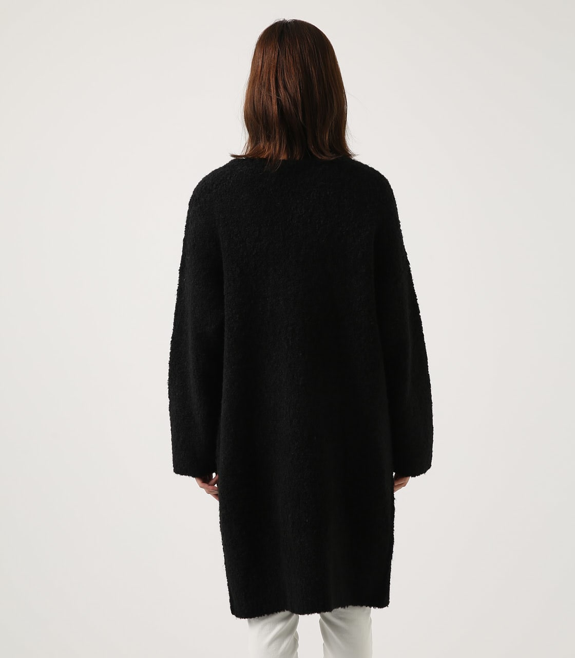 【AZUL BY MOUSSY】ブークレロングカーデ 詳細画像 BLK 7