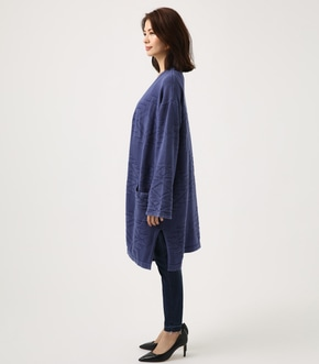 【AZUL BY MOUSSY】ネイティブ柄ニットカーデ 詳細画像
