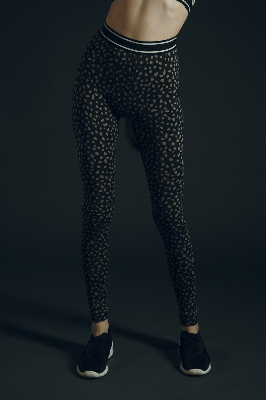 CLUB AZUL BASIC LEGGINGS 詳細画像 柄BLK 2