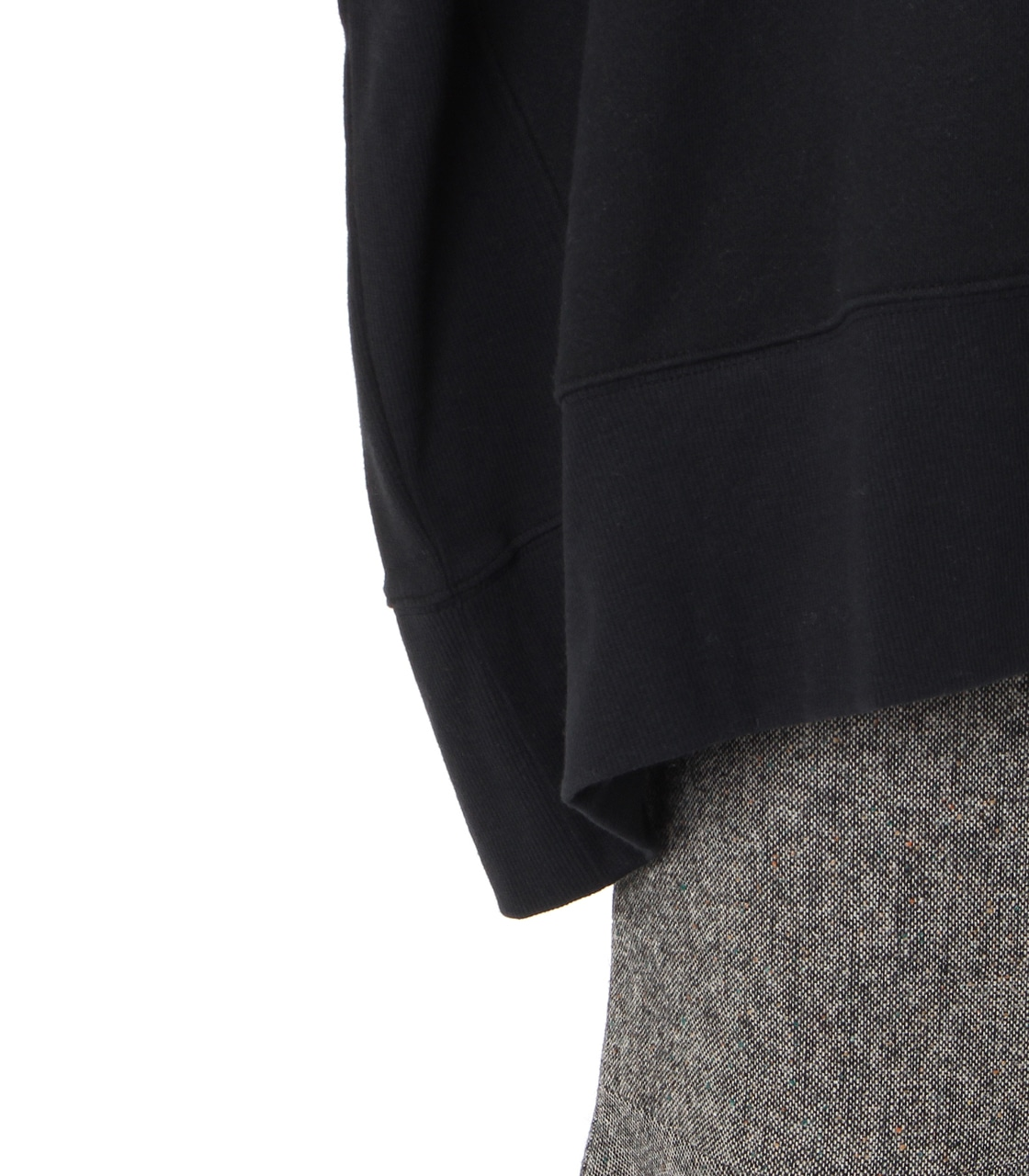 【AZUL BY MOUSSY】変形ドルマン裏毛チュニック 詳細画像 BLK 6
