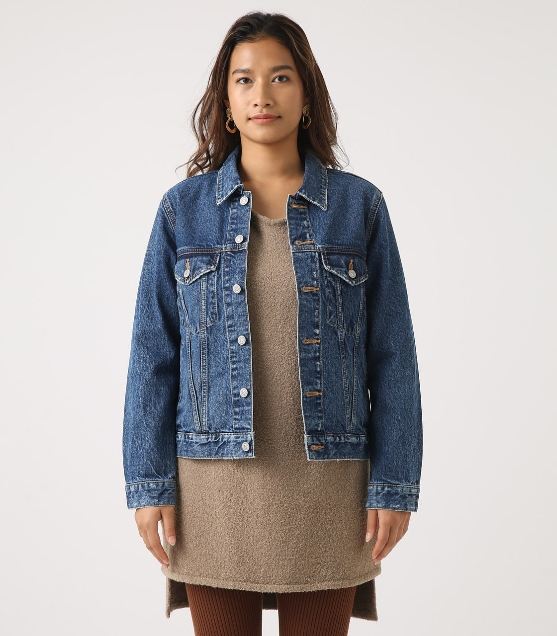【AZUL BY MOUSSY】DENIM JACKET 詳細画像 BLU 5