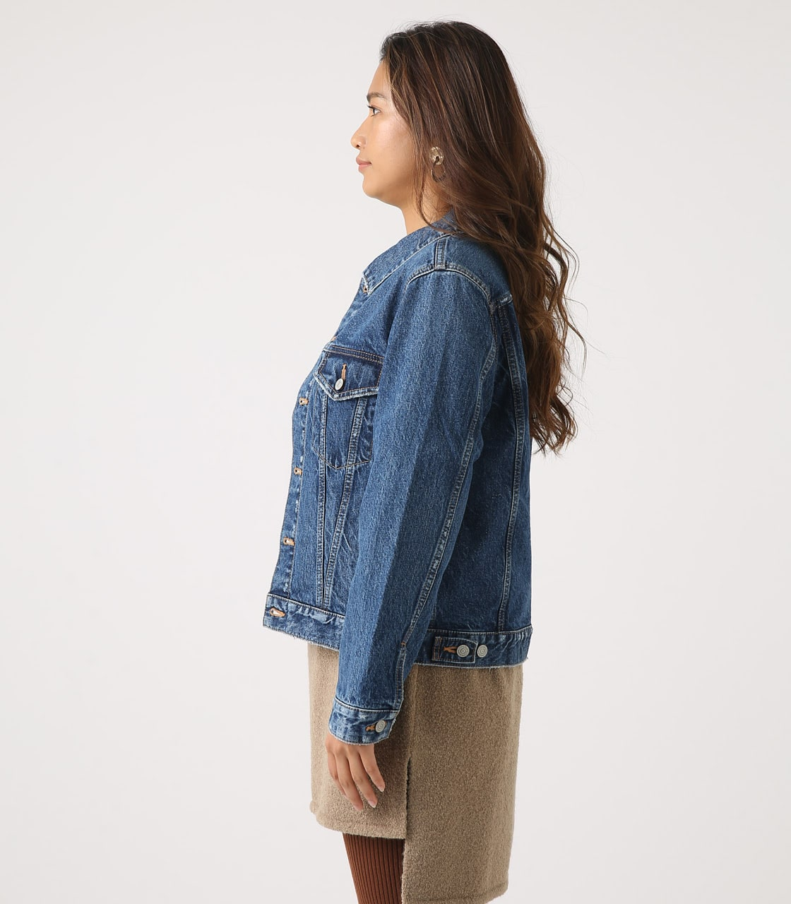【AZUL BY MOUSSY】DENIM JACKET 詳細画像 BLU 6