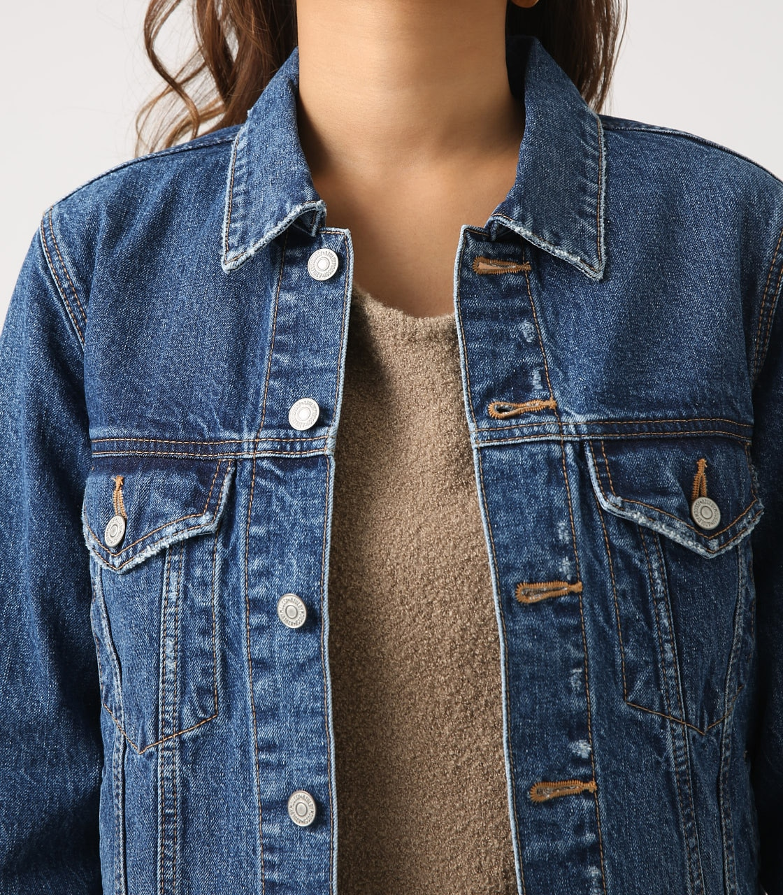 【AZUL BY MOUSSY】DENIM JACKET 詳細画像 BLU 8